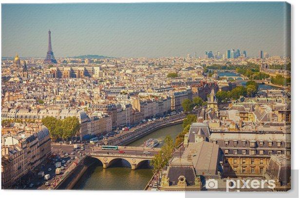 View on Paris Canvas Print - Themes