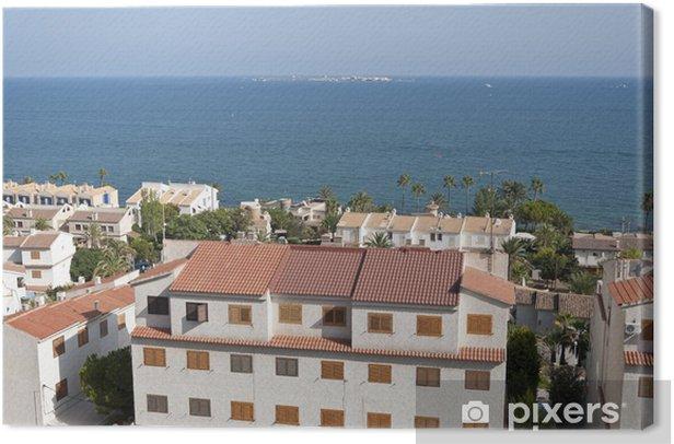 Views of Santa Pola town, Alicante, Spain Canvas Print - Holidays