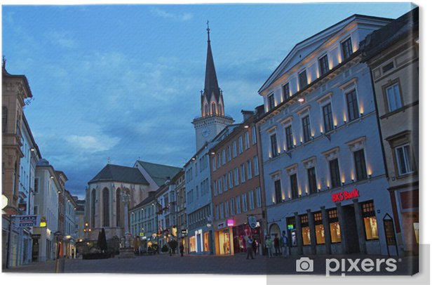 Villach Canvas Print - European Cities
