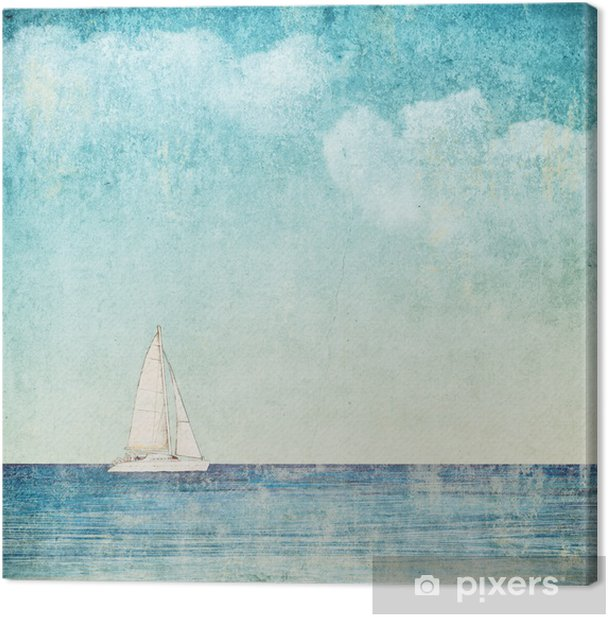 vintage background Canvas Print - Styles