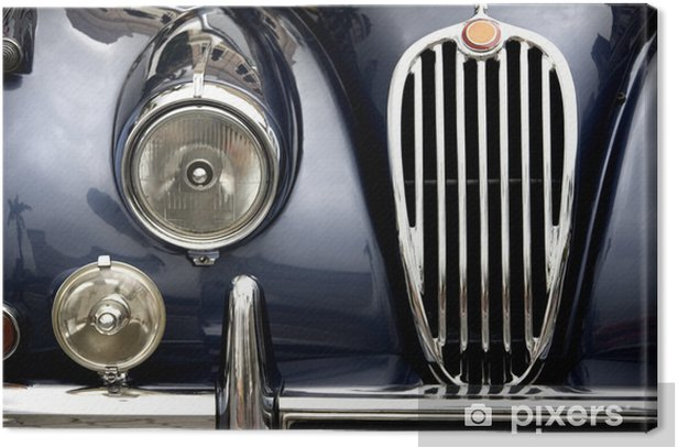 Vintage Car Canvas Print - iStaging