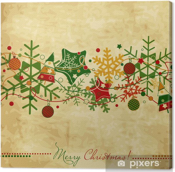 Talented vintage christmas print mine the