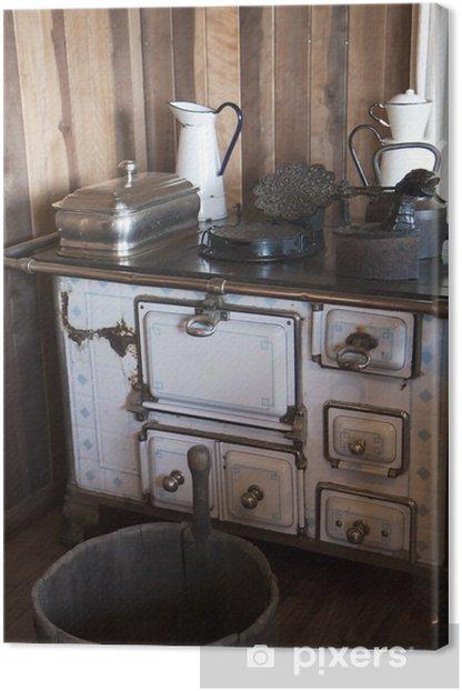 Vintage Kitchen Canvas Print Pixers We Live To Change