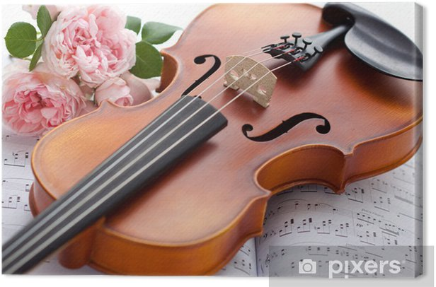 Violin Canvas Print - Music