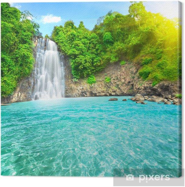 Waterfall Canvas Print - Themes