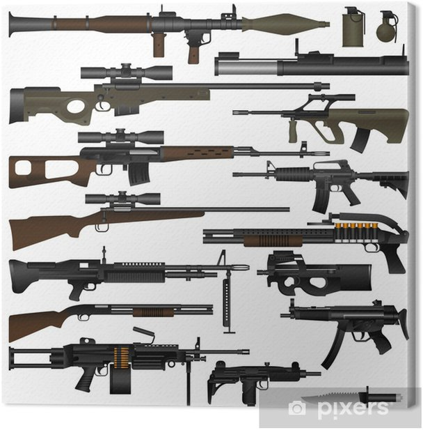 Weapon Canvas Print - Life