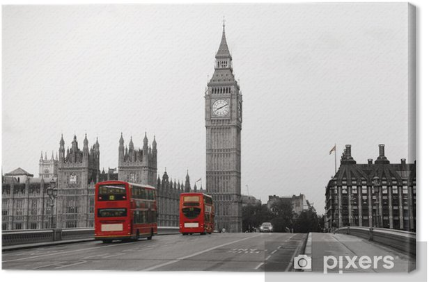 Westminster Palace Canvas Print -