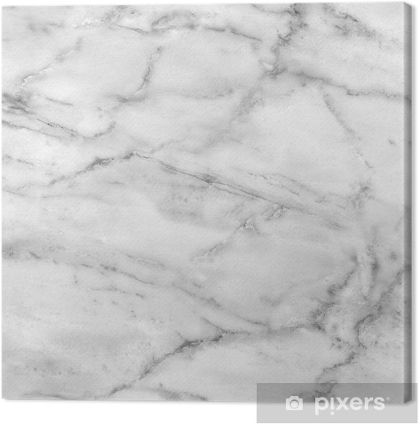 White marble texture (high.res.) Canvas Print -