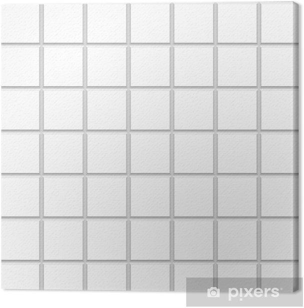 White Square Ceramic Tiles Texture