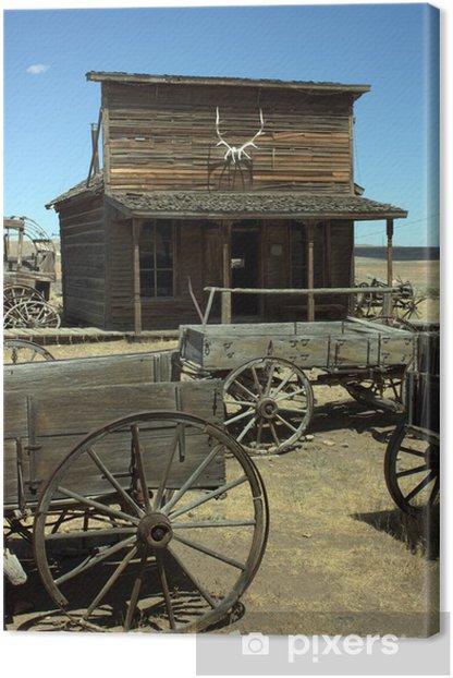 Wild West City Canvas Print - America
