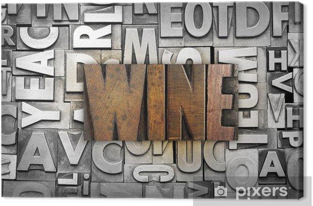 Wine Canvas Print - Kitchen