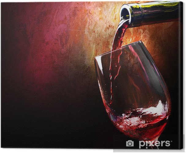 Wine Canvas Print - Wine