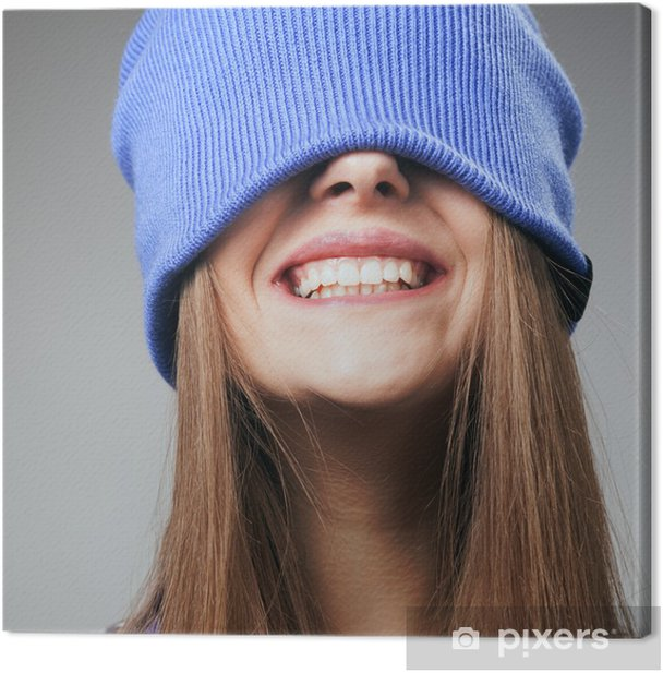 Winter smile Canvas Print - Themes