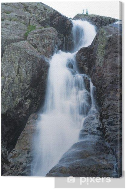 Wodospad Siklawa w Tatrach Wysokich Canvas Print - Holidays