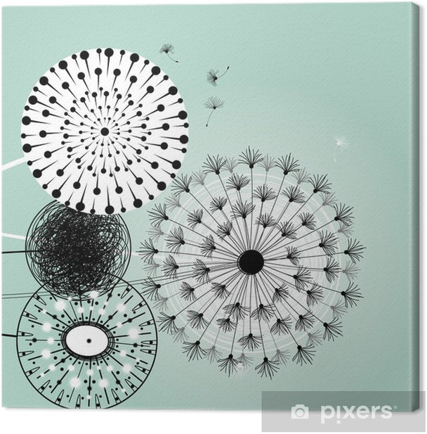 wonderful dandelions Canvas Print - Destinations