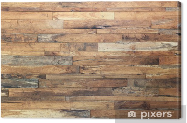 wood texture background Canvas Print - Themes