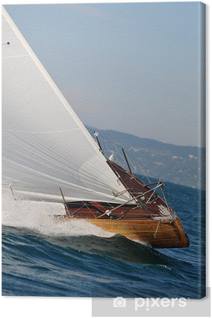 Yacht Canvas Print - Boats
