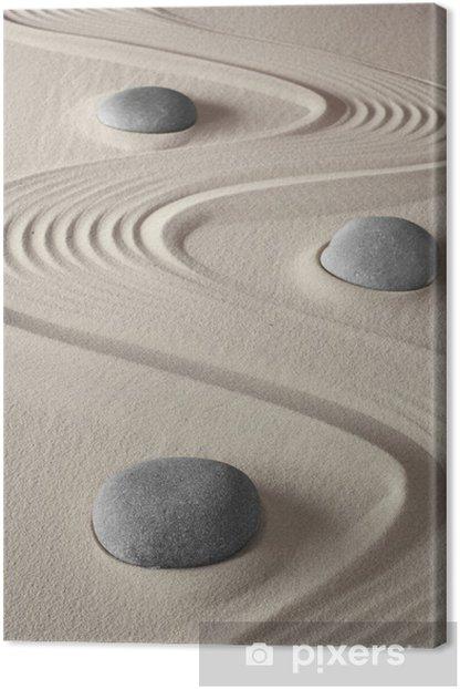 zen garden Canvas Print - iStaging