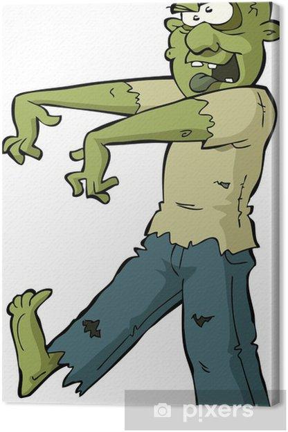 Zombie Canvas Print - Themes