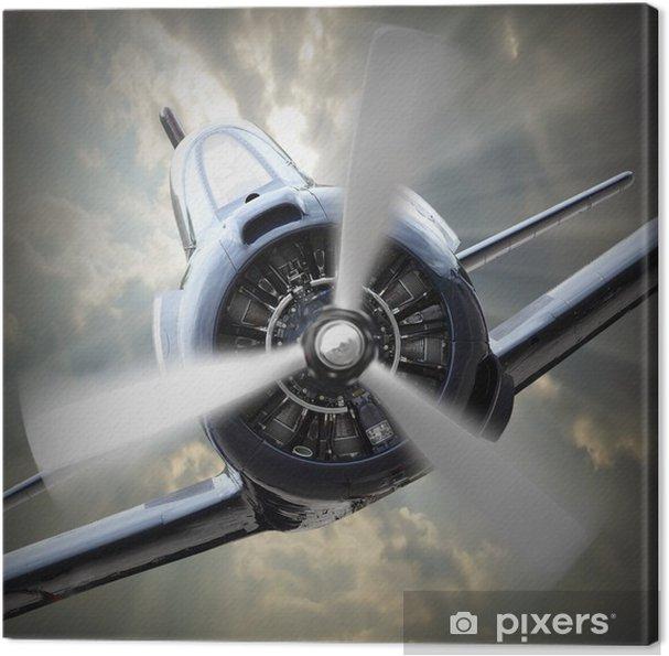 Canvas Propellervliegtuig. - Thema's