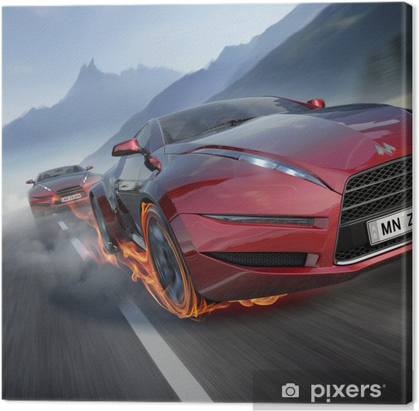 Canvas Race -