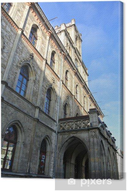 Canvas Rathaus von Weimar - Vakantie