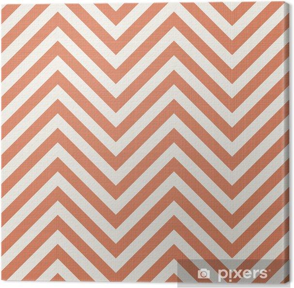 Canvas Retro stof naadloze patroon - Achtergrond