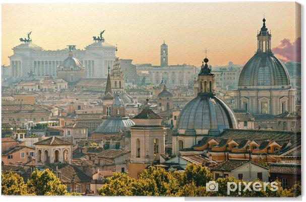 Canvas Rome, Italië. - Thema's