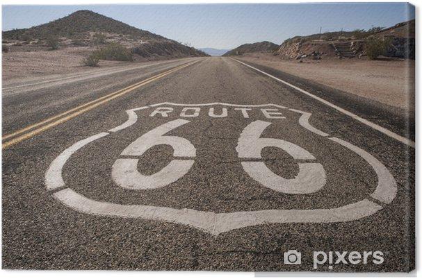 Canvas Route 66 Mojave - Thema's