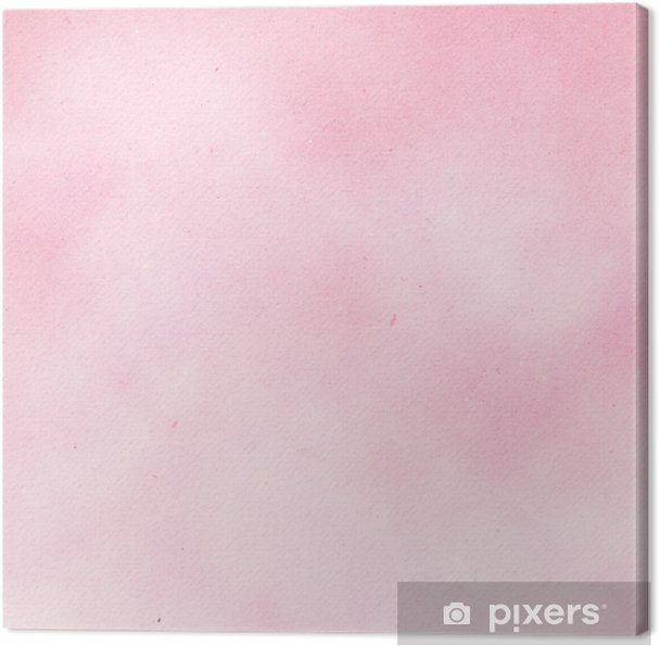 5d5bf57a0c1 Canvas Roze aquarel papier textuur