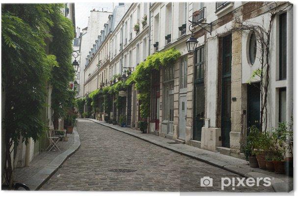 Canvas Ruelle parisienne - Europese steden