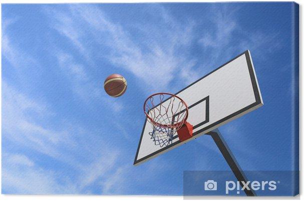 Canvas Rugplank Basketbal - Basketbal