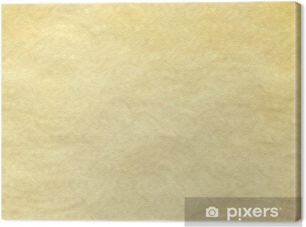 Canvas Ruwe muur of verfrommeld papier achtergrond - Achtergrond
