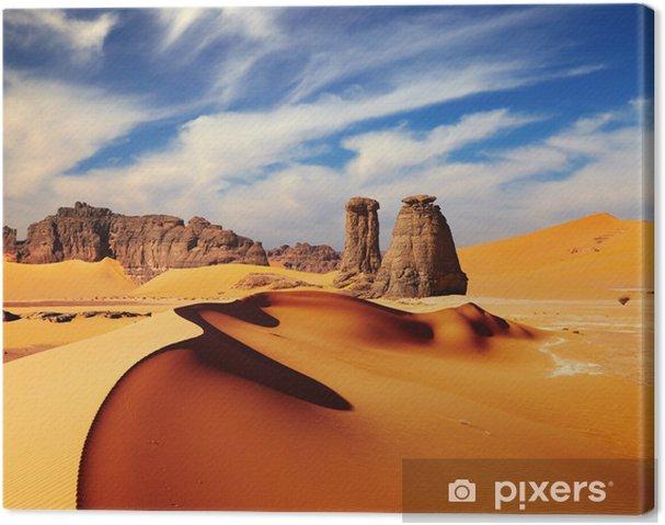 Canvas Sahara woestijn, Algeria - Thema's