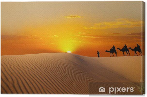 Canvas Sahara - Woestijn
