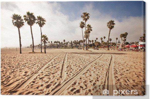 Canvas Santa Monica Beach, California, USA - Thema's