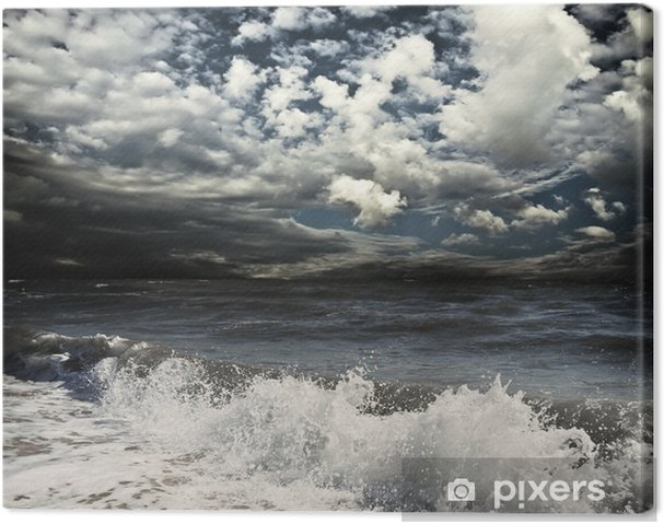 Canvas Sea - Water