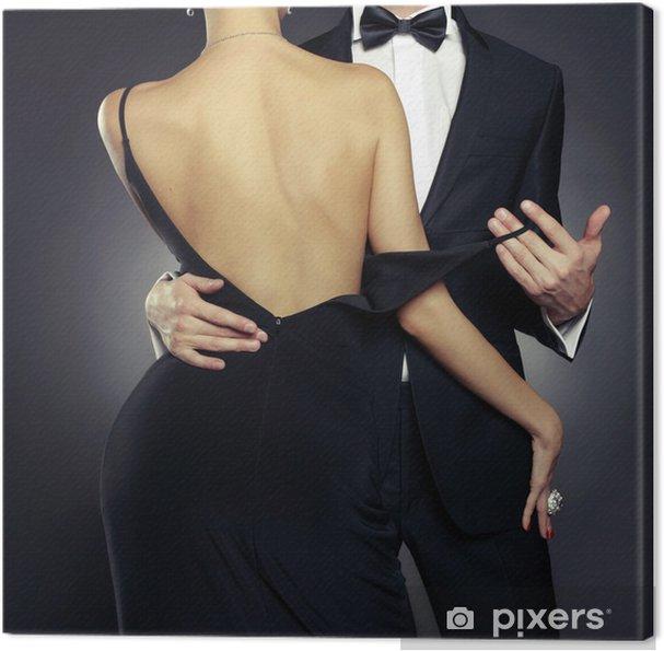 Canvas Sensual paar - Mode