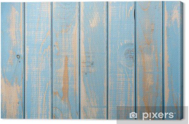 Canvas Shabby houten achtergrond - Thema's