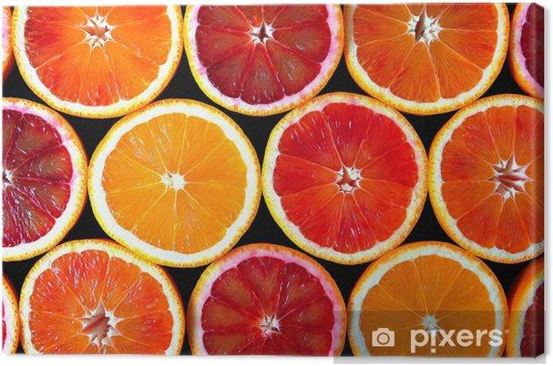 Canvas Sinaasappels -
