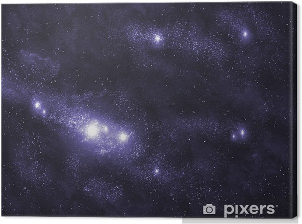 Canvas Starfield serie: Melkweg - Thema's