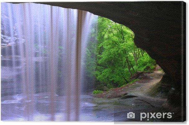 Canvas Starved Rock State Park - Illinois - Wonderen der Natuur
