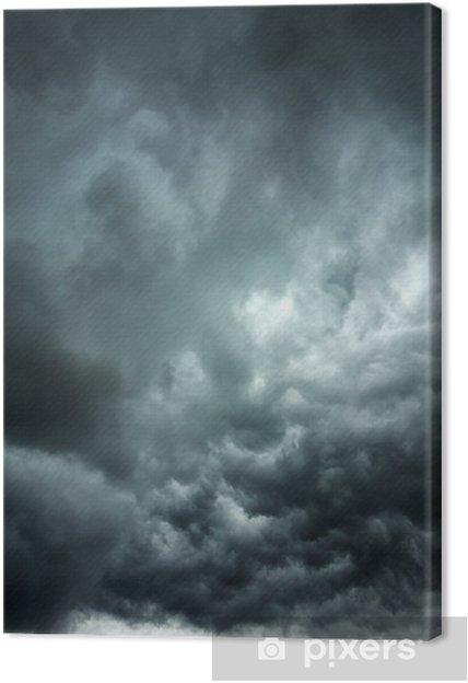 Canvas Stormachtige wolken - Thema's