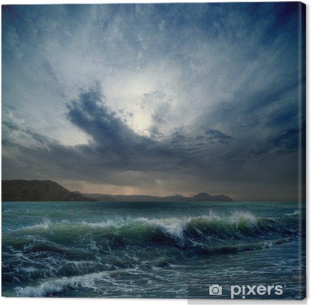 Canvas Stormachtige zee - Thema's