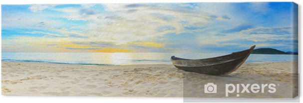Canvas Strandpanorama - Thema's