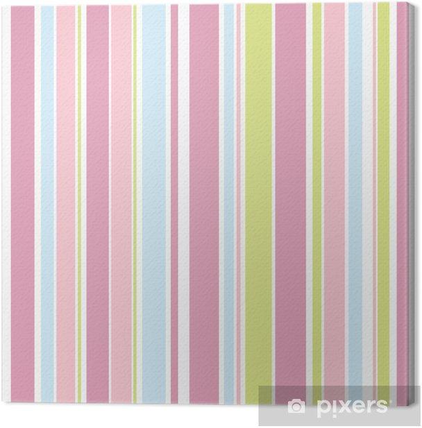 Canvas Streeppatroon - Viering