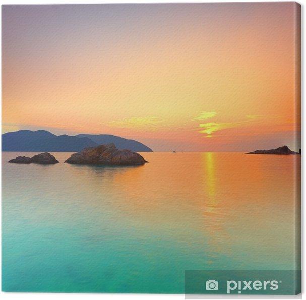 Canvas Sunrise - Stijlen