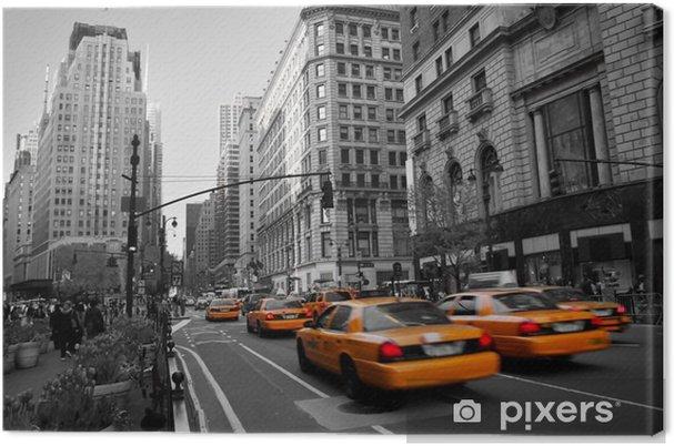 Canvas Taxi's in Manhattan - Stijlen