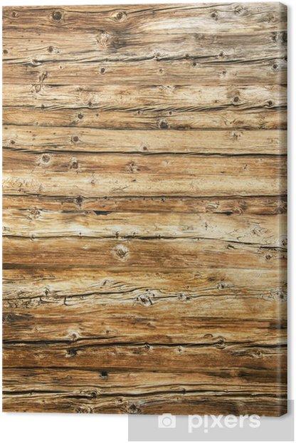 Canvas Textura di Legno invecchiato - Thema's