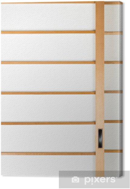 72ddbfda6cd Canvas Textuur van de Japanse schuifdeuren papier deur Shoji